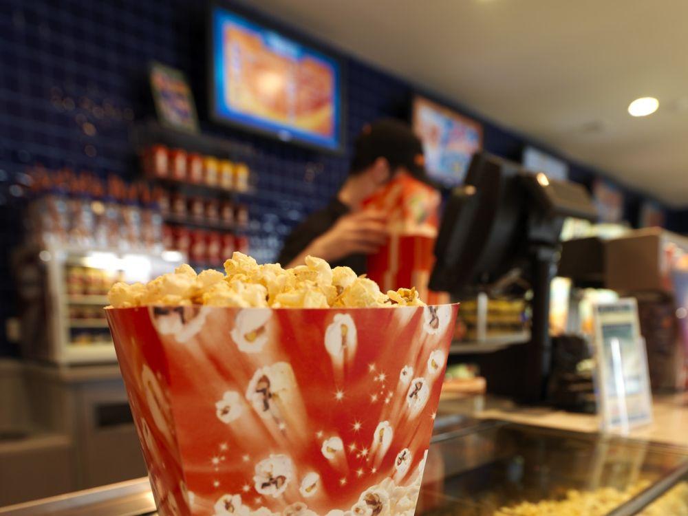Popcorn-Theke in einem Kino von Vue (Foto: Sony)
