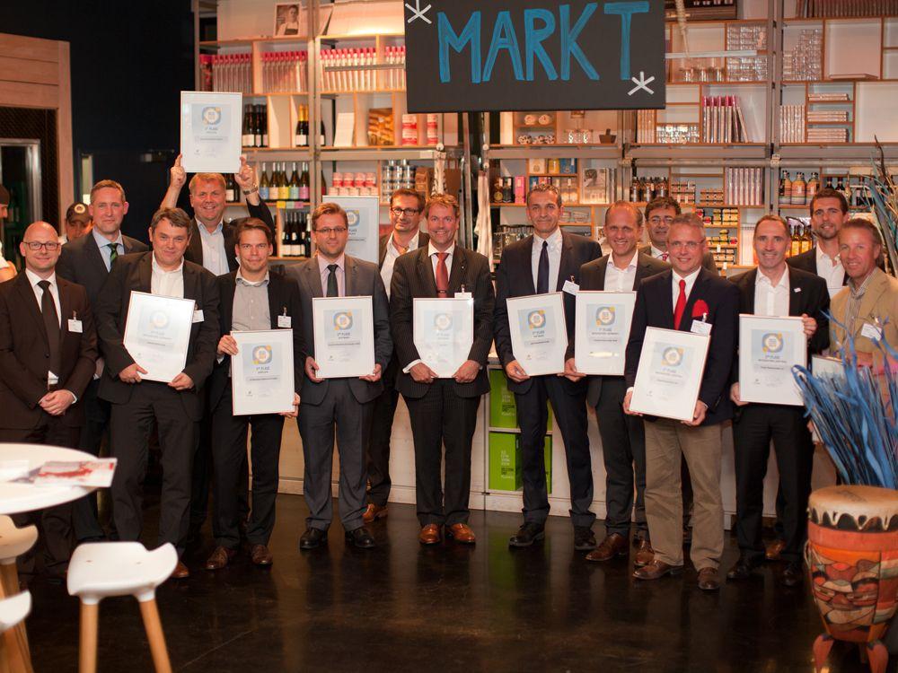 Die Gewinner der invidis Digital Signage Awards 2014 (Bild: Anna Olivia Weimer)