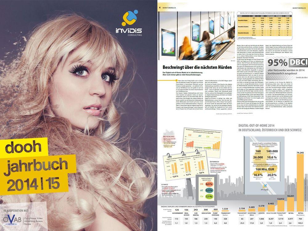 Das neue invidis DooH Jahrbuch 2014/15 steht ab sofort zum kostenlosen Download bereit