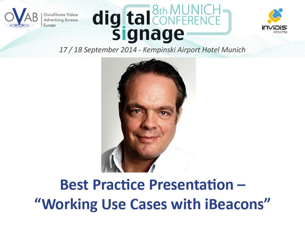 Best Practice Presentation von Jan Webering (Montage: invidis)