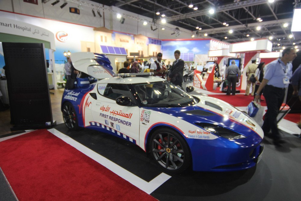 Dubai Ambulance Lotus (Photo: invidis)