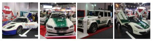 Dubai Police and Ambulance Showcars (Photo: invidis)