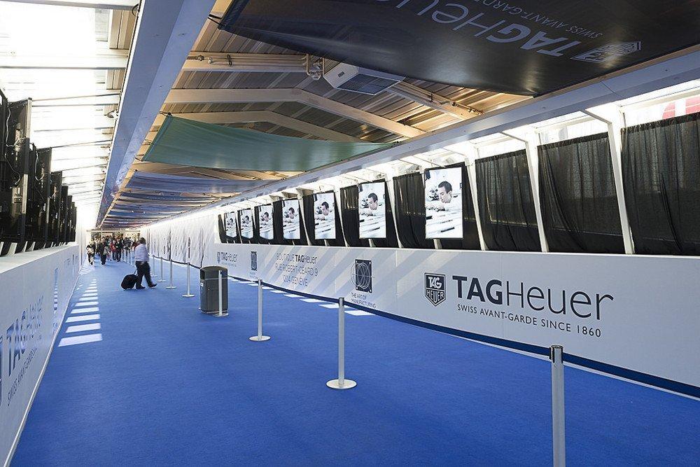 Neo Advertising Branding Zone in Genf (Foto: Neo)