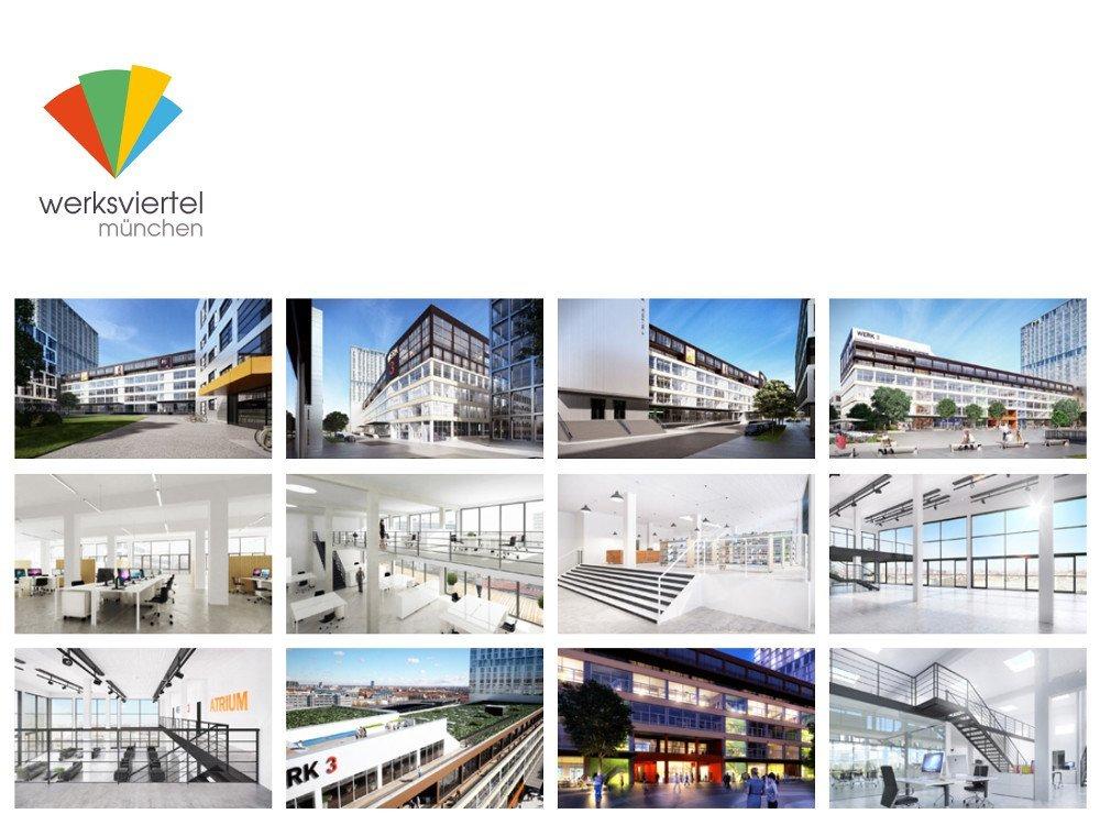 Werksviertel München (Screenshot Projektwebsite)