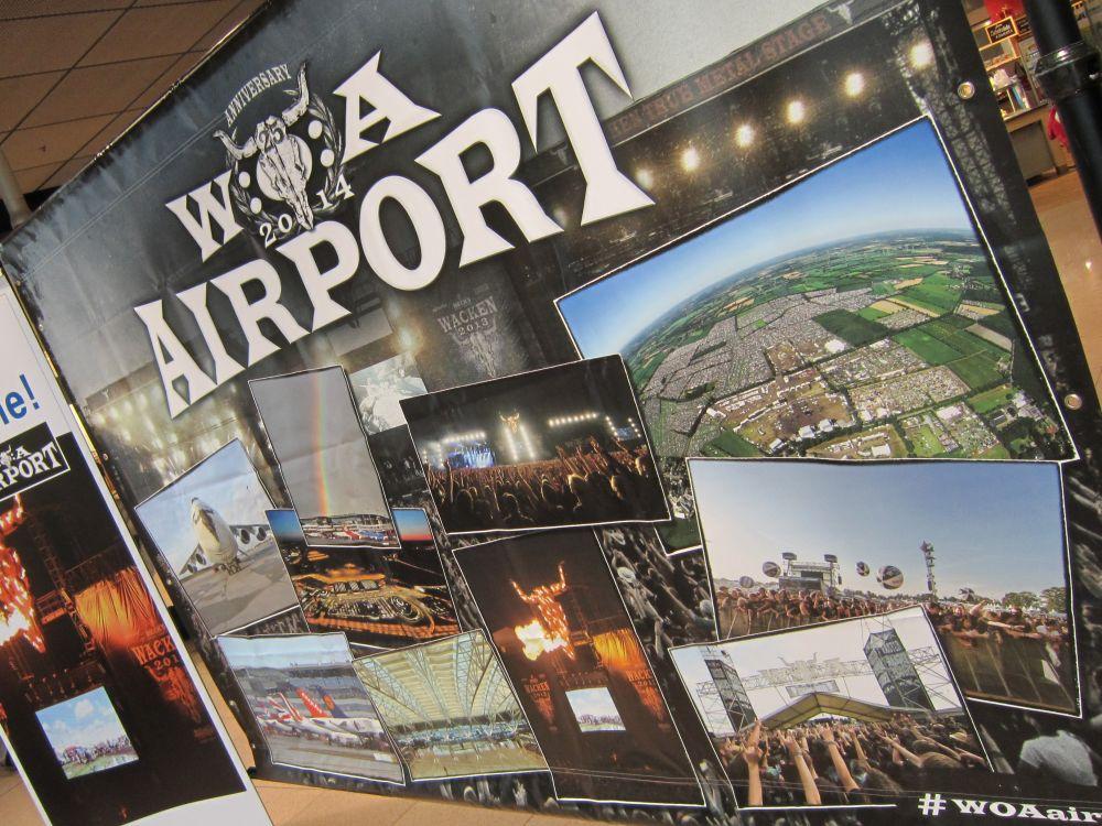 "Airport Media Award-Gewinner Juli 2014: ""Wacken Airport"" (Foto: Initiative Airport Media)"