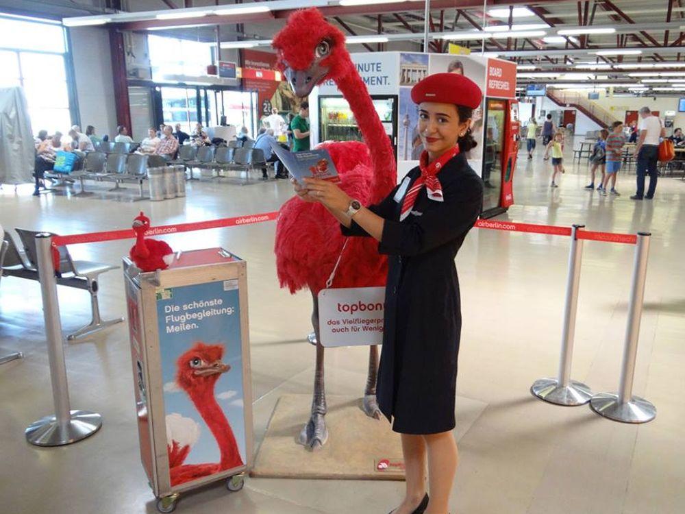 Publikumsliebling des Airport Media Award Juli 2014: topbonus- Programm (Foto: Initiative Airport Media)