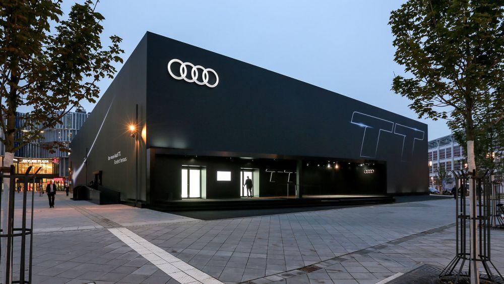 Audi TT Pop Up von außen (Foto: Audi/Stefan Bösl)