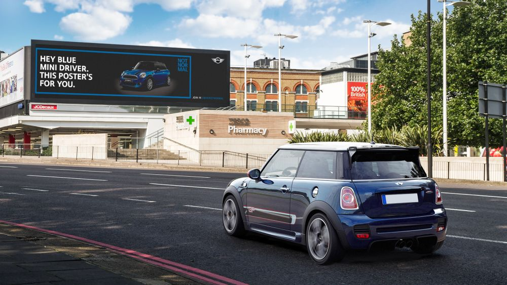 Digital Signage Best Practice Award 2014: MINI Not Normal (Foto: Viscom)