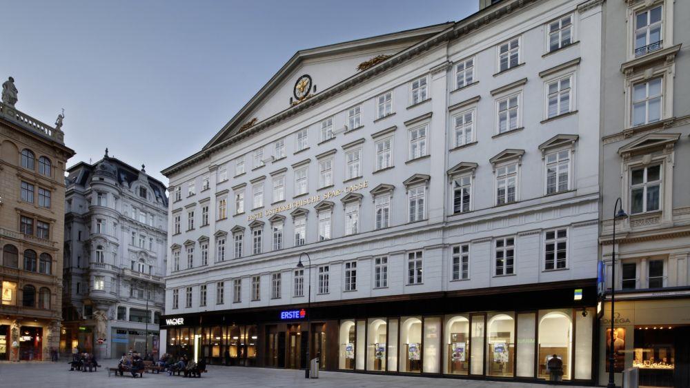Erste Bank: Stammhaus in Wien (Foto: Helmut Lackner/ Erste Bank)