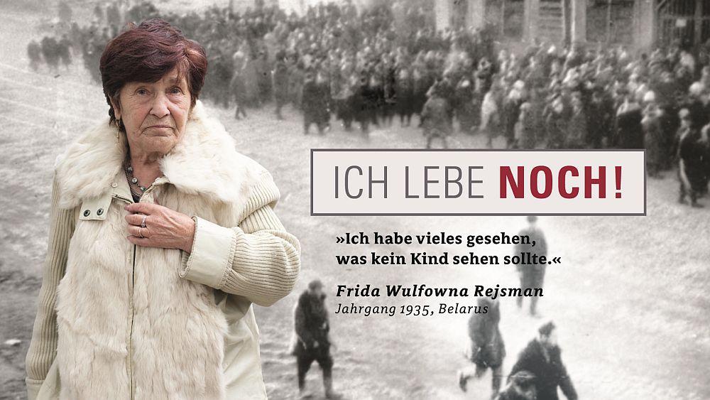 """Kampagne """"Ich lebe noch!"""" - Auch Frida Rejsman leiht der Kampagne ihr Gesicht (Foto: Wall AG)"""