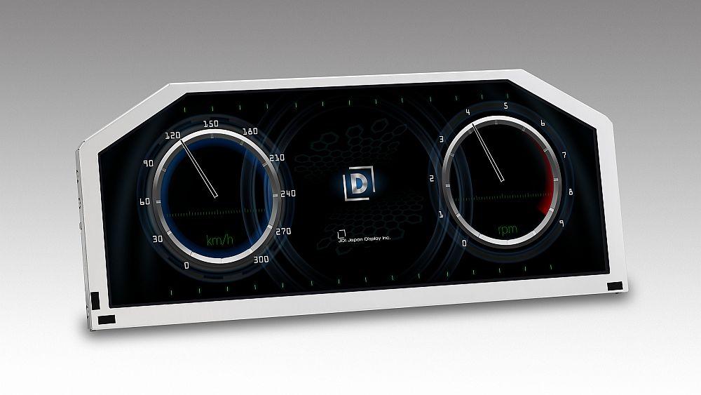 Sonderformat - Automotive-Display (Foto: JDI)