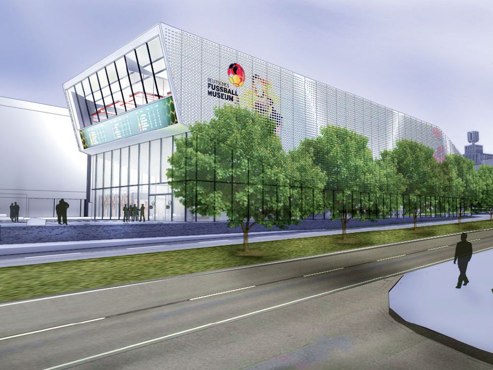 Geplantes DFB Museum in Dortmund (Foto: Leurocom)