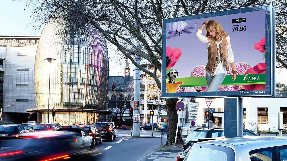 Mega Light-Standort in Köln (Foto: Ströer)