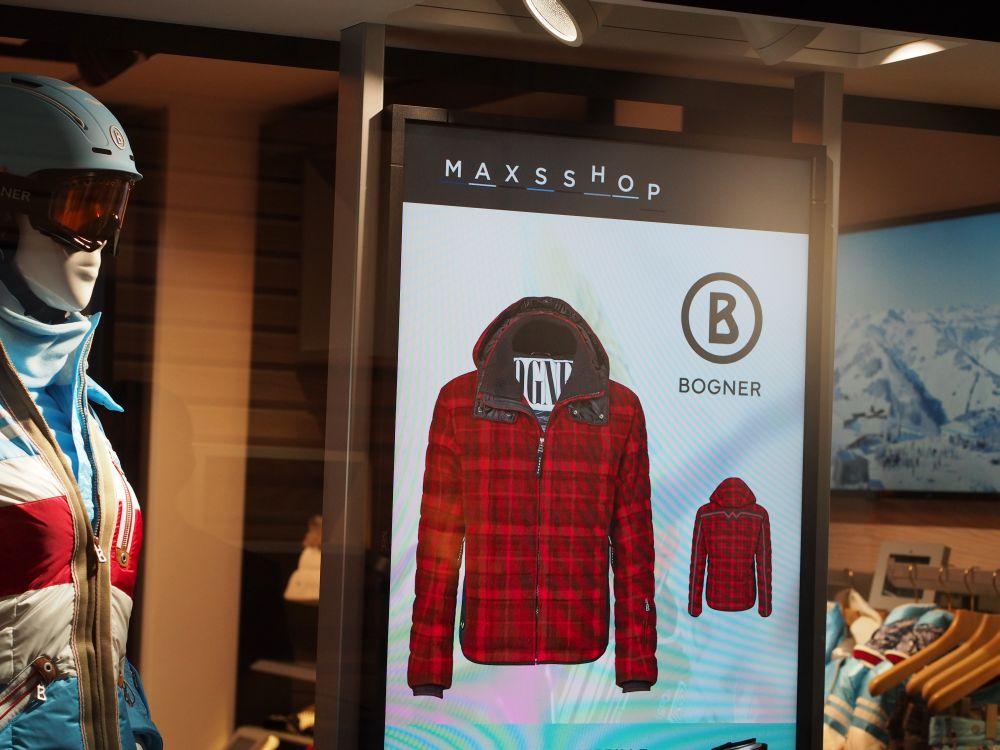 """Personalisierte Angebote auf einem LFD: Wenn Kunde Max einkauft, wird aus dem weShop der """"Maxsshop"""" (Foto: invidis.de)"""