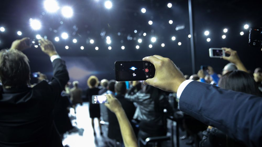 Smartphone-Schnappschüsse der Besucher - Awareness war gesichert (Foto: Audi/Stefan Bösl)