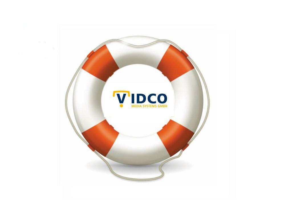Vidco wurde gerettet (Logo: Vidco; Grafik/ Montage: invidis.de)