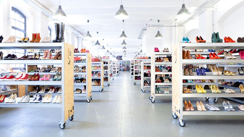Zalando Outlet Store in Berlin: Warenpräsentation (Foto: Zalando)