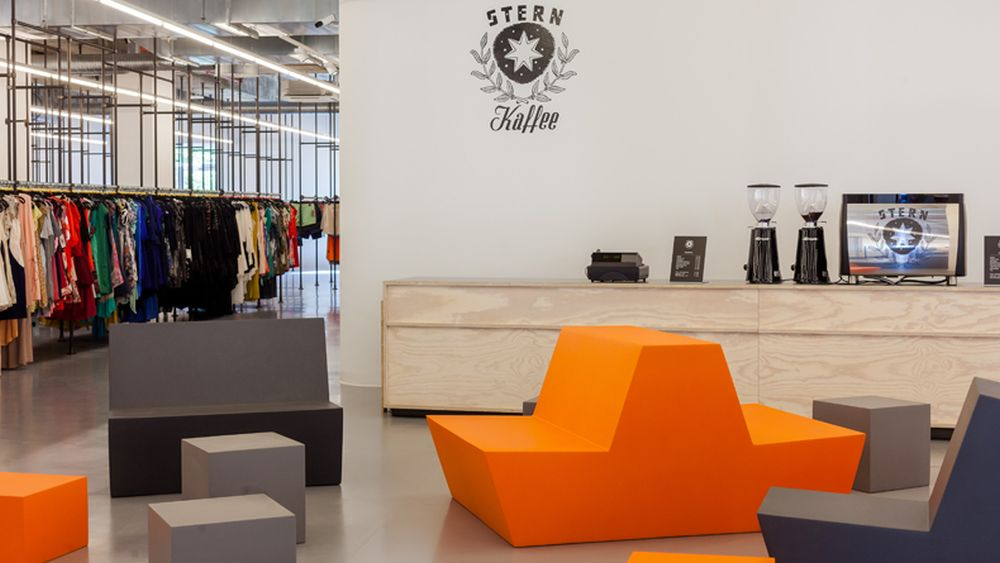 Es gibt deutlich ungemütlichere Gelgenheiten einzukaufen: Zalando Outlet Store in Frankfurt (Foto: Zalando)