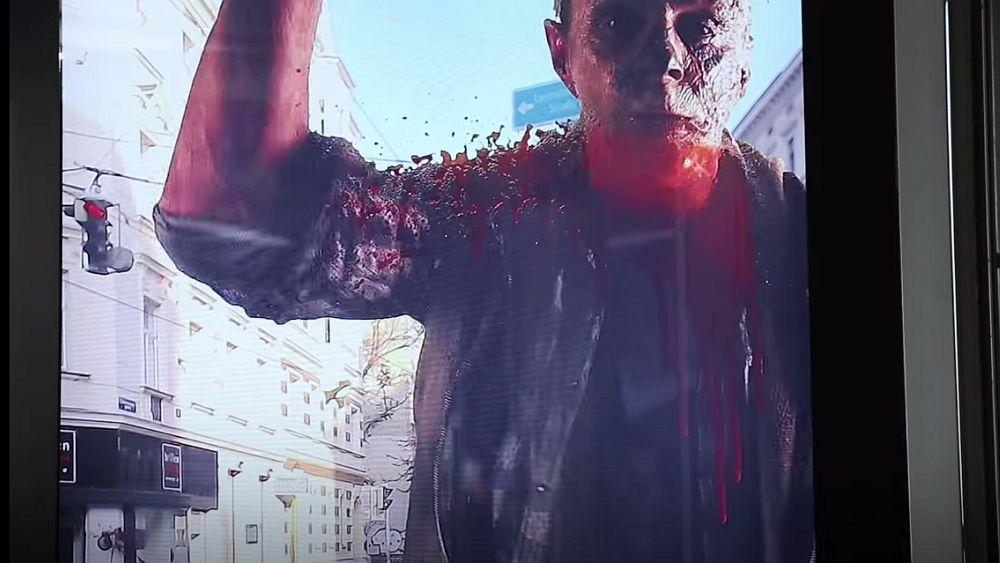 Schocker: Zombie hinter Glas (Screenshot: invidis.de)