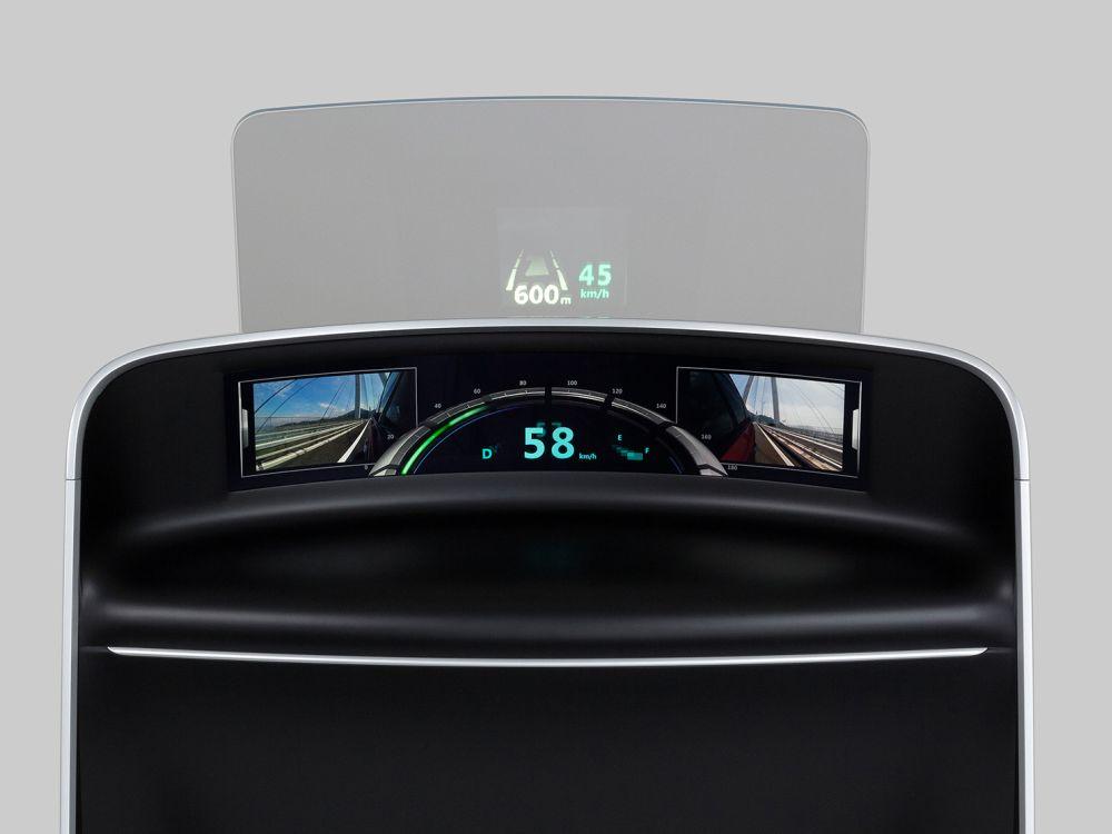 Neues Curved Cockpit Display (Foto: JDI)
