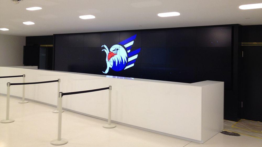 Der Adler ist gelandet... ...und zwar im VIP-Bereich (Foto: SAP Arena)