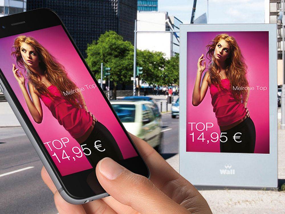 Mit Double Impact bietet WallDecaux nun auch Geofencing und Mobile-Targeting in Kombination mit OoH an (Foto: Wall)
