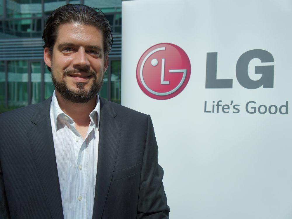 Neu bei LG: Georg Mayer, Sales Manager Commercial Displays Österreich, Schweiz und Slowenien (Foto: LG)