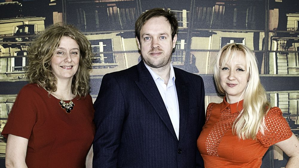 Neues Content Team (v.l.n.r.):  Janet Guest, Russell Gower und Stacey Knight (Foto: JCDecaux UK)