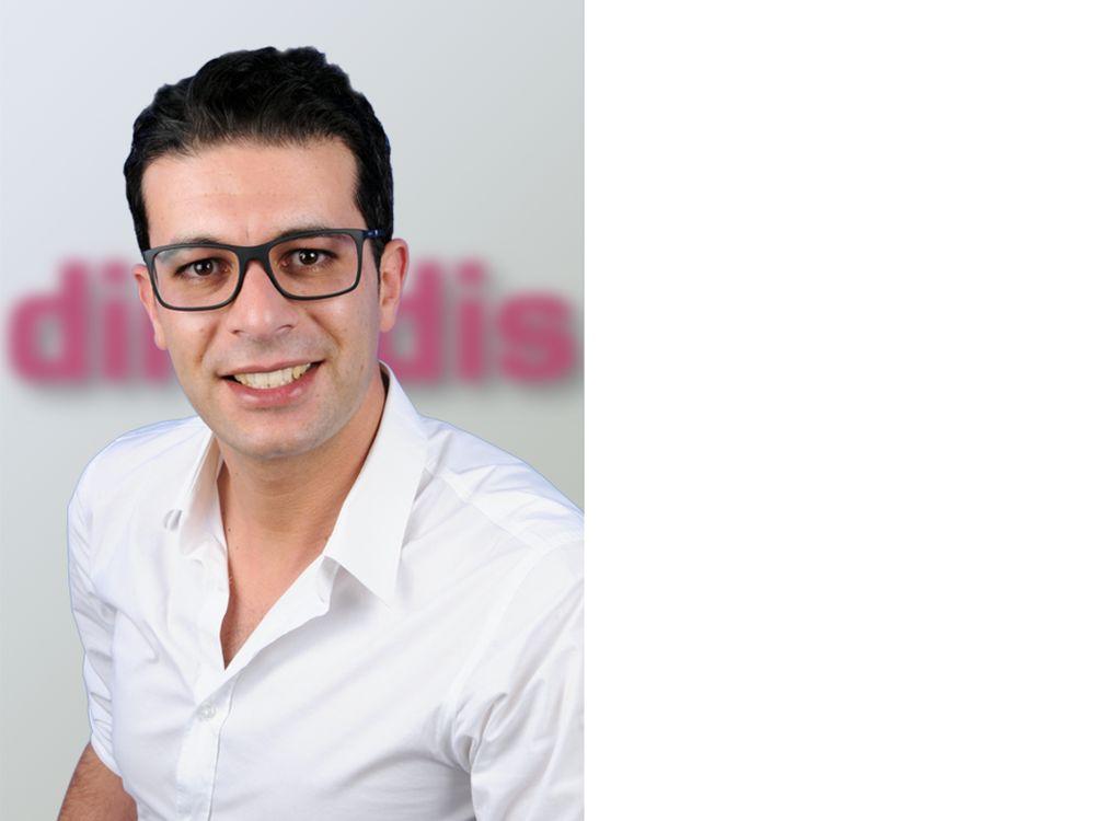 Jetzt Projektmanager Digital Signage bei dimedis: Khalid El-Boubsi (Foto: dimedis)