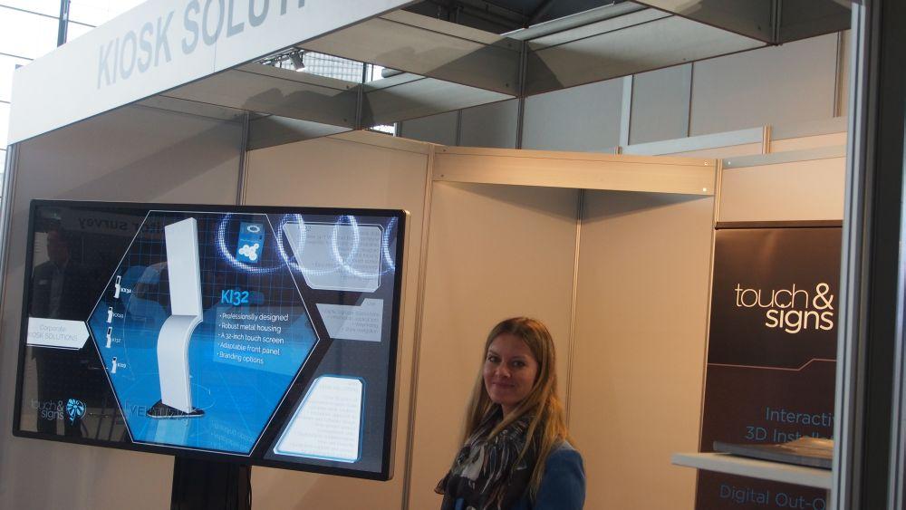 Kiosk Solutions auf der Viscom 2014 (Foto: invidis.de)