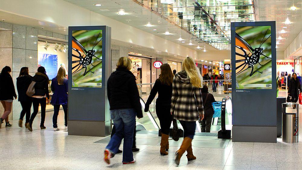 Mall Video: Screens in München (Foto: Ströer)