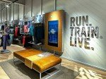 Digital Signage im Nike Experience Store in Newport (Foto: Nike)