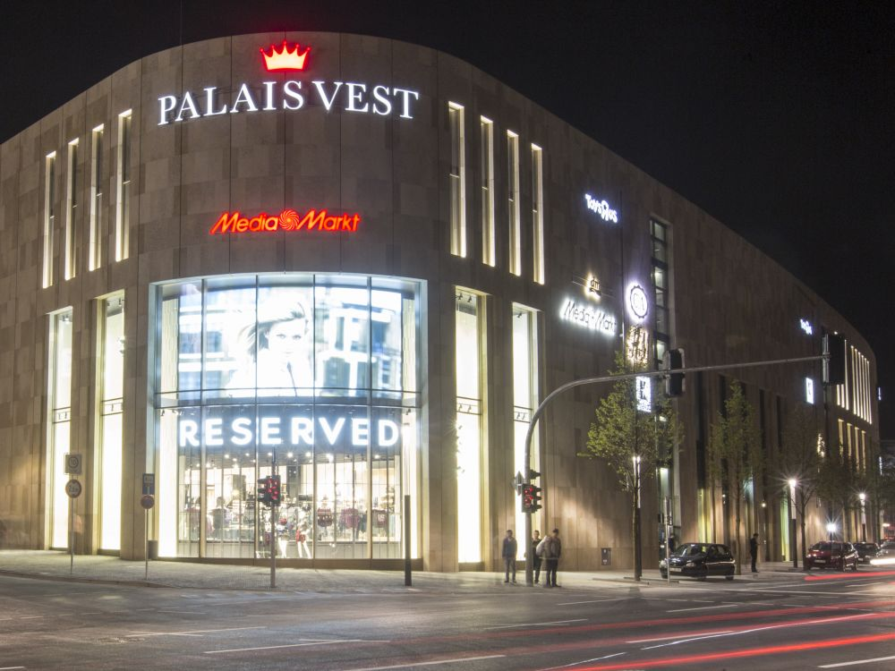 Shopping Mall Palais Vest in Recklinghausen (Foto: mfi)