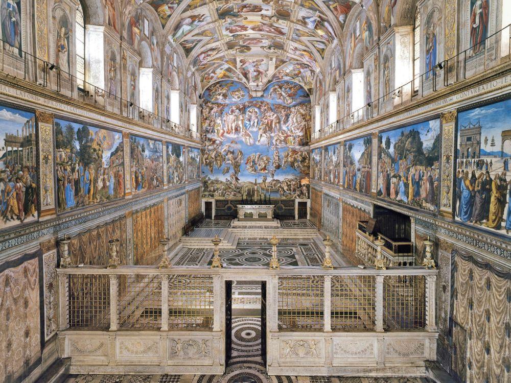 Blick in die Sixtinische Kapelle (Foto: Governatorato dello Stato della Città del Vaticano)