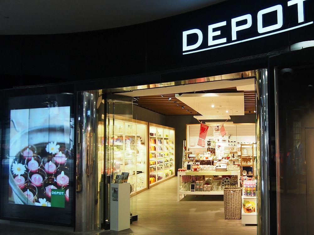 Video Wall aus LG Displays bei Depot in München (Foto: invidis.de)