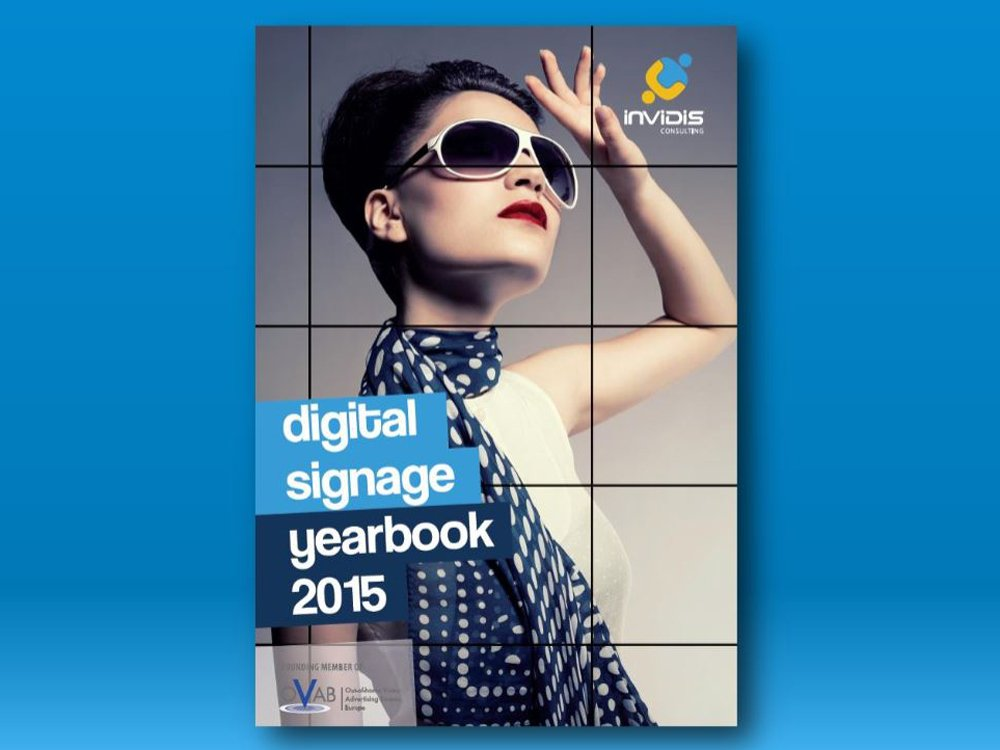 invidis digital signage yearbook 2015: Extended deadline (Image: invidis)