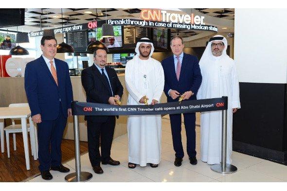 CNN Traveller Cafe opens at Abu Dhabi airport (Photo: CNN)