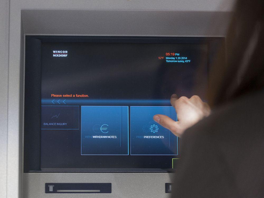 ATM mit installiertem ProFlex4 (Foto: Wincor-Nixdorf)