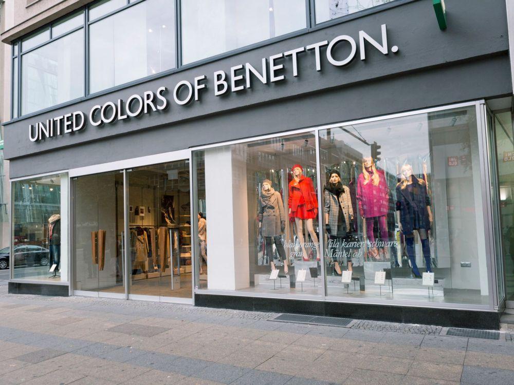 Berlin: Neuer Benneton on Canvas in der Tauentzienstraße (Foto: Benetton)