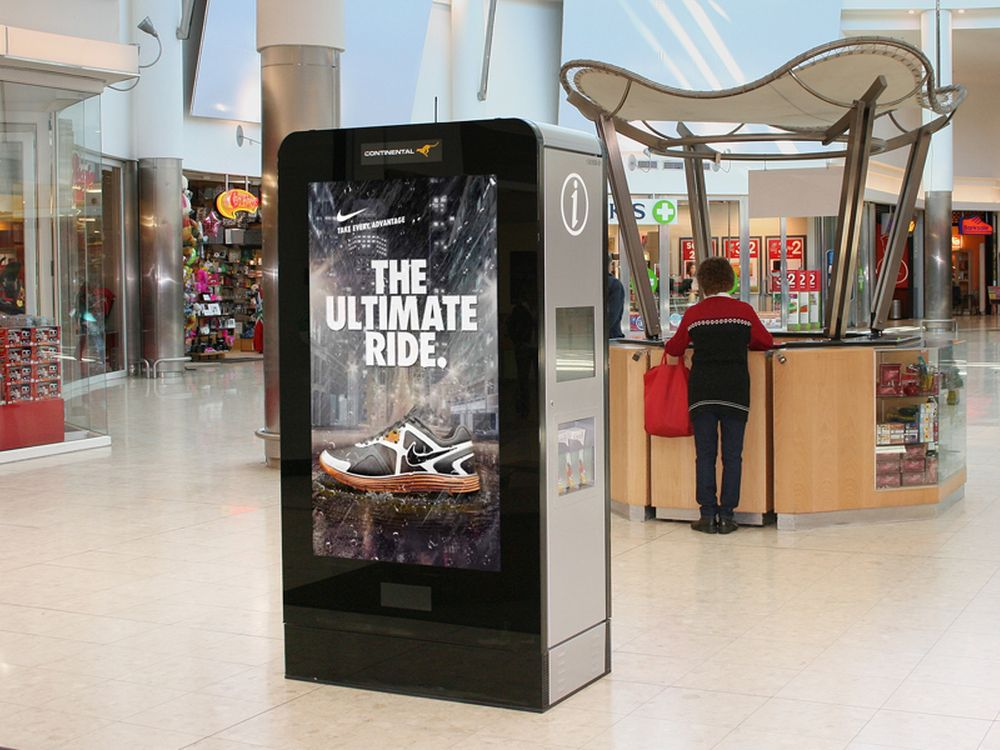 Continental Outdoor Media: Mall Signage-Portfolio (Foto: Continental Outdoor Media)