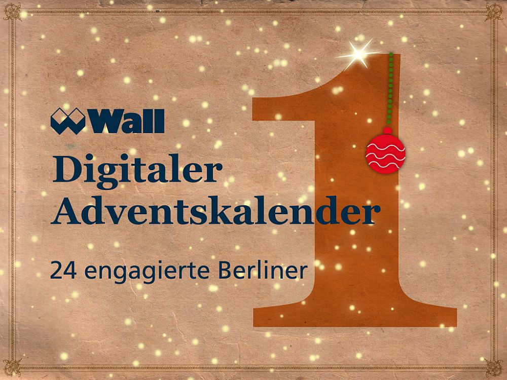 Digitaler Adventskalender (Grafik: Wall AG)