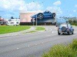 Neuseelands größtes freistehendes LED Backlit Billboard (Foto: APN Outdoor)