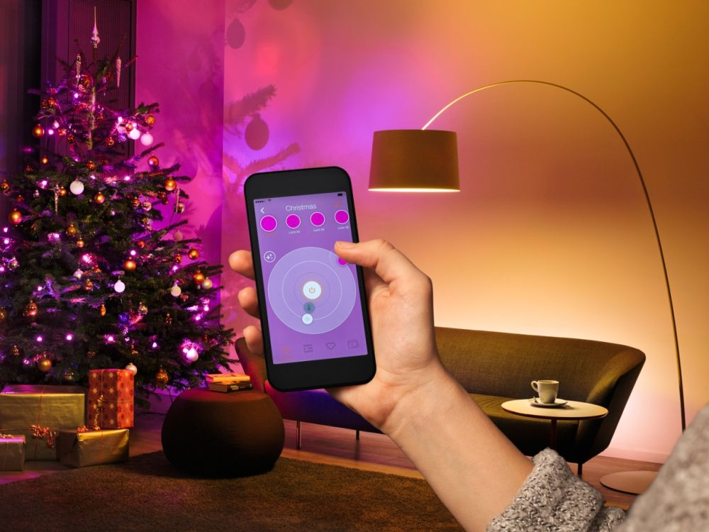 Lightify: App und Lichterkette (Foto: Osram)