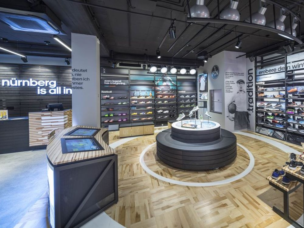 Shoe Bar im HomeCourt Nürnberg (Foto: Adidas)
