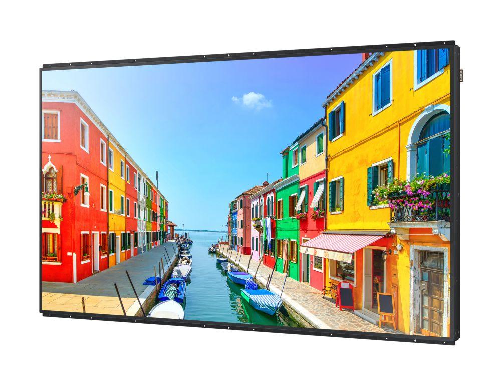 Das auf SoC 2.0 basierende Smart Signage Display OMD-K verfügt über eine Luminanz von 2.500 nit (Foto: Samsung)