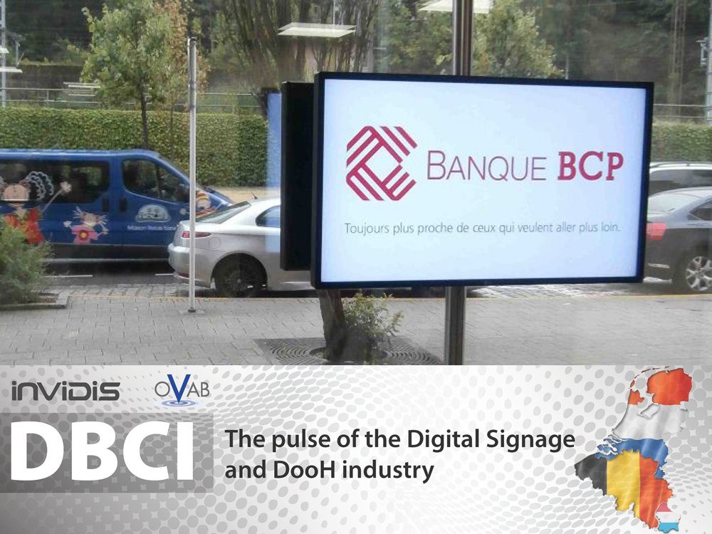 Display at Banque BCP Luxembourg (Image: Tech-IT PSF S.A.)