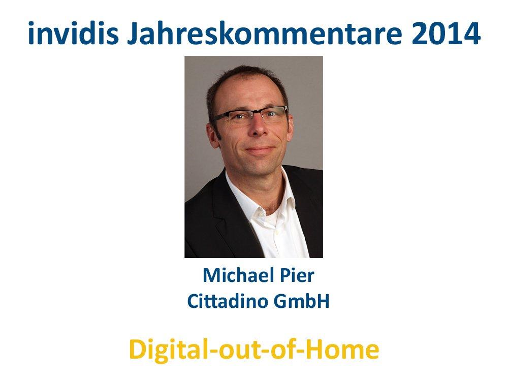 DooH-Jahreskommentar 2014: Michael Pier, Cittadino