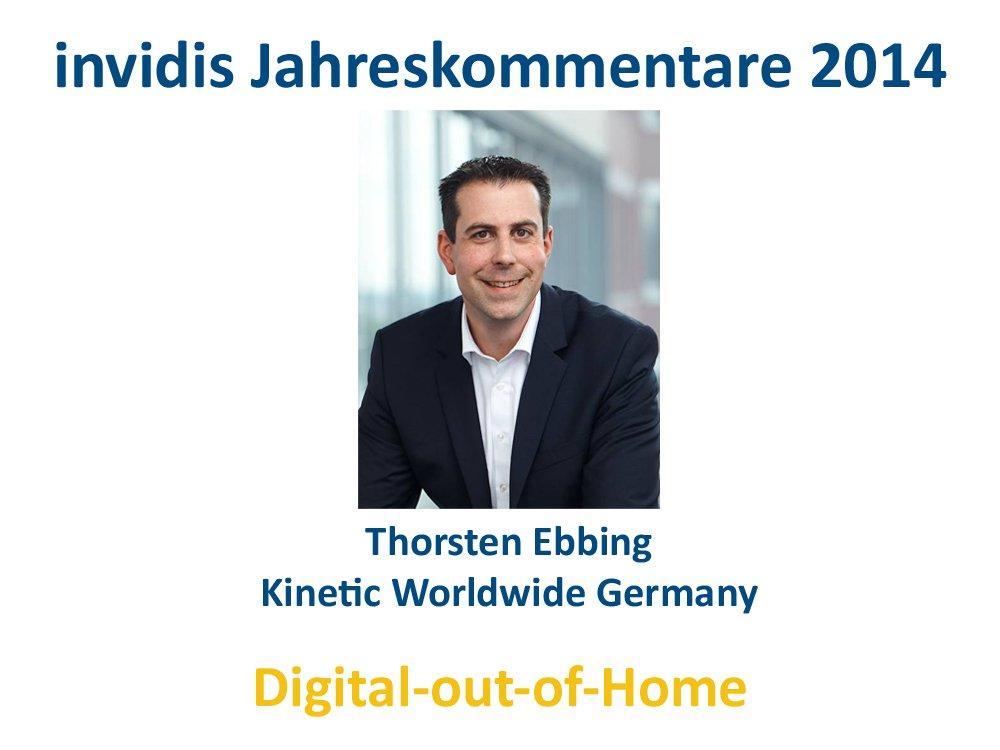DooH-Jahreskommentar 2014: Thorsten Ebbing, Kinetic
