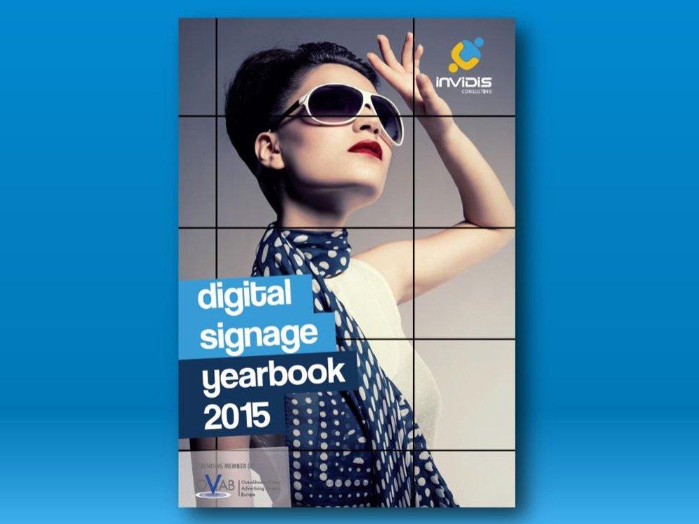 invidis Digital Signage yearbook 2015: Verlängerung der Abgabefrist (Bild: invidis)