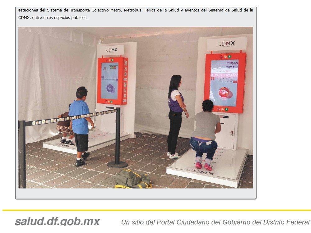 Schwitzen für Tickets (Screenshot Stadtverwaltung Mexico Stadt)